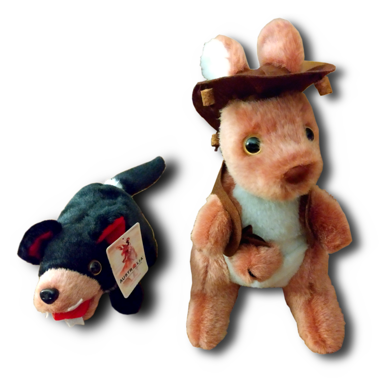 Tasmanian Cuties - Wallaby Tassie Devil