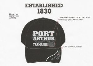 Port Arthur Tasmania - Custom Designed Cap Hat