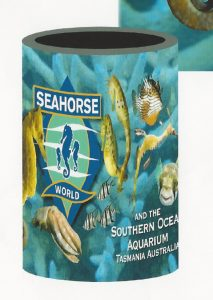 Seahorse World - Custom Designed Beer Holder Stubby