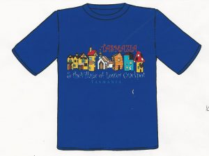 Tasmazia & the village of the lower crackpot custom T-Shirt Design